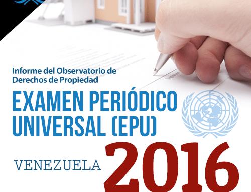 Informe ODP para el Examen Periódico Universal EPU 2016
