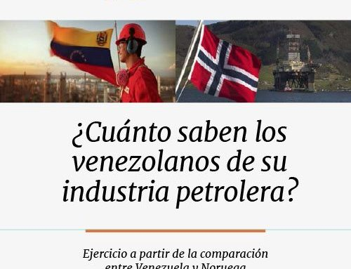 Caso 5 | ¿Cuánto saben los venezolanos de su industria petrolera?