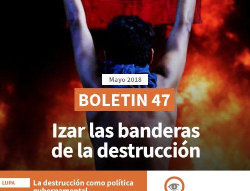 Boletín 47 | Izar las banderas de la destrucción
