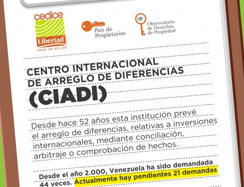 Demandas a Venezuela ante la CIADI