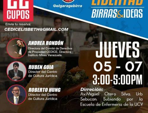 La ética de la propiedad privada –Caracas: librerías, birras e ideas– por Andrea Rondón