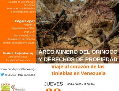 Mesa de análisis: Arco minero del Orinoco y los derechos de propiedad