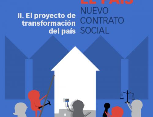 Transformar el país II: El proyecto de transformación del país