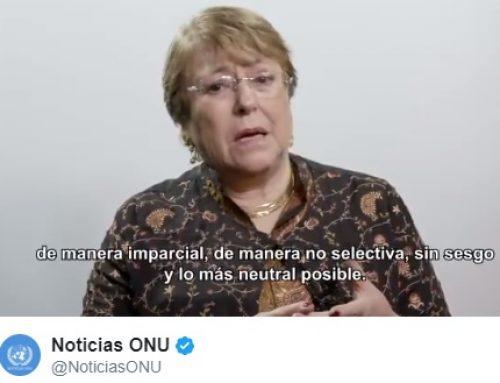 ODC 63: El mandato de Bachelet y el barniz de la emergencia humanitaria