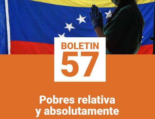 Boletín 57 | Pobres relativa y absolutamente