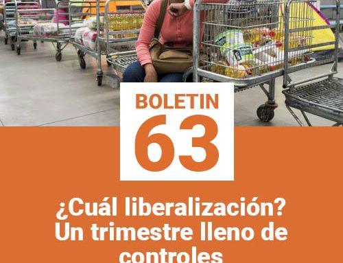 Boletín 63 | ¿Cuál liberalización? Un trimestre lleno de controles