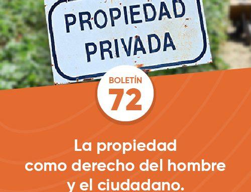 Boletín 72 | La propiedad como derecho del hombre y el ciudadano